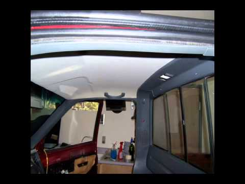 replacing a modern gm headliner youtube. Black Bedroom Furniture Sets. Home Design Ideas