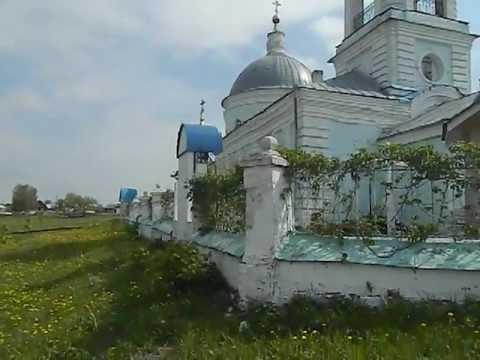 Храм Спаса Нерукотворного. Село Борки.