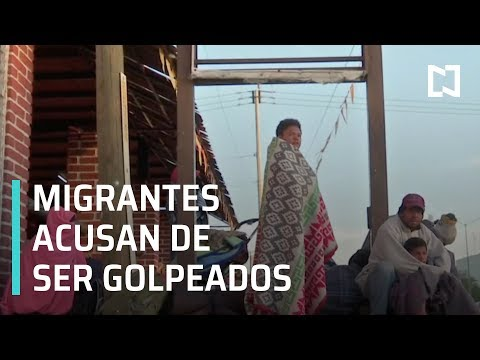 Caravana Migrante de Honduras acusan de ser golpeados por policías - En Punto con Denise Maerker