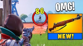 *NEW* Infantry Rifle Weapon Gameplay (Fortnite)