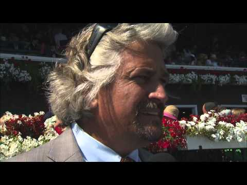 Post Race Interview - Amsterdam Stakes with Steve Asmussen