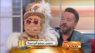 "Terry Fator Welcomes New Puppet ""Sir Elton"" to Las Vegas Show"