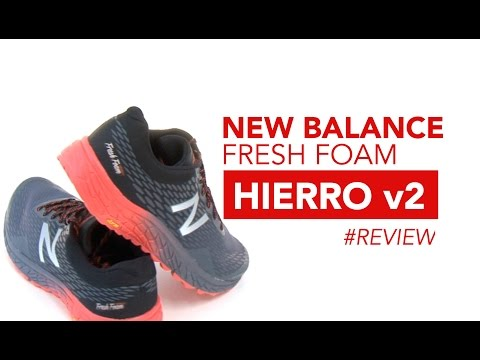 New Balance Fresh Foam Hierro v2 Review en Español  de la zapatilla de Trail Running