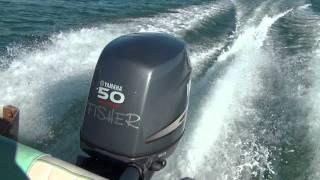 Sessa Key Largo 16 + Yamaha F50 FISHER = F80 80 HP four 4 stroke outboard