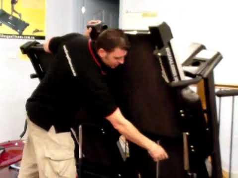 How to fold treadmills http://www.lifespanfitness.com.au