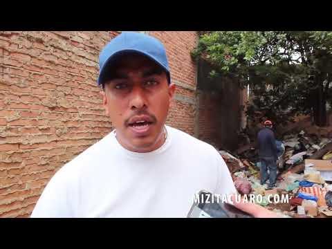 Vivía entre la basura en Zitácuaro, encontraron 50 mil pesos y 7 botes de monedas viejas