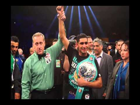 Amir Khan vs Luis Collazo PostFight