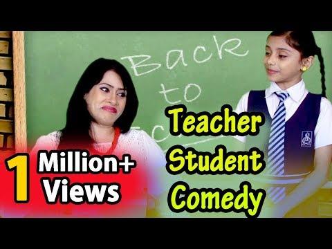 Teacher Student Best Jokes Collection   Funny Videos   Hilarious Comedy   Hindi Jokes Compilation thumbnail