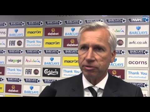 Pardew And De Jong Post-Aston Villa