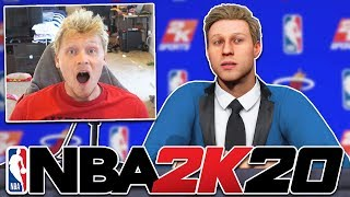 GETTING DRAFTED AND NBA COMBINE! NBA 2K20 MyCareer #2