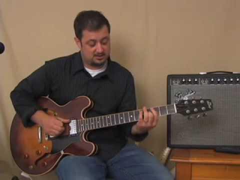 Guitar Lessons - Learn Guitar Easy Triads & Chord Inversions Rhythm Lesson - E Minor Barre Shape