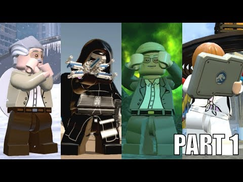 Best Characters Animations in Lego Videogames! - PART 1