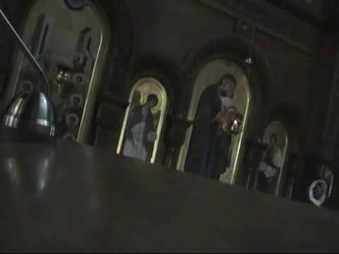 Византийский хор. Ионинский монастырь. Киев, 2010