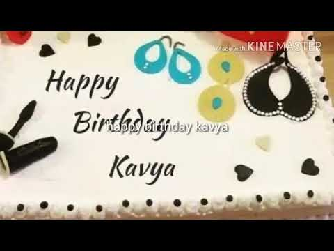 Happy birthday kavya