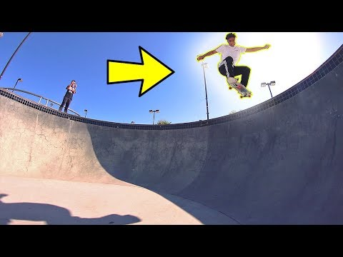 BEST TRICK AT THE PARK!
