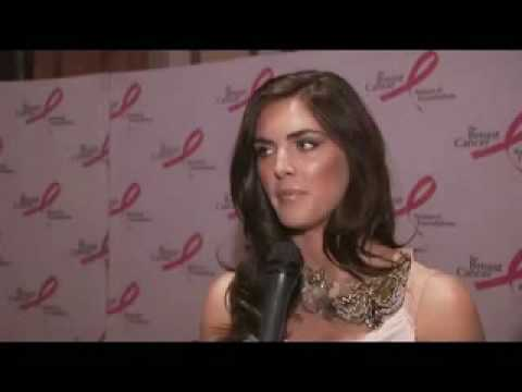 Hilary Rhoda at 2010 Breast Cancer Research Foundation's Hot Pink Party Video