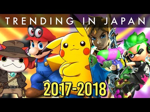Most Popular Games in Japan 2017-2018 [CONSOLE EDITION]