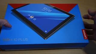 Lenovo Tab 4 10 Plus| Unboxing & First Impressions