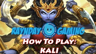 How To Play Kali: Combo Guide, Build and Gameplay - Season 3 (SMITE)