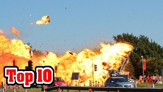 10 TRAGIC EVENTS Caught On CAMERA