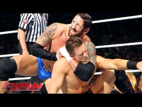 The Miz & Chris Jericho Vs. Wade Barrett & Fandango: Raw, May 20, 2013 video