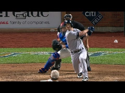 NYY@NYM: Nix plates Gardner to give Yankees 1-0 lead
