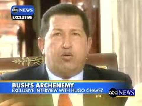 ABC television interview with Hugo Chavez