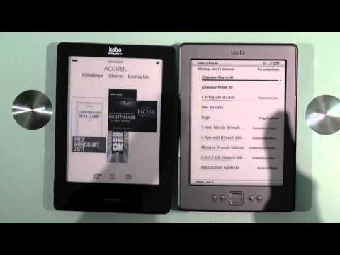 Fnac Kobo versus Amazon Kindle: comparatif et test