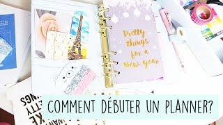 Comment débuter un planner facilement ? • Personnaliser son agenda  | Filofax, Kikki K