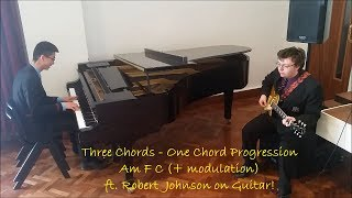 Improvising on (only) Three Chords! ft. Robert Johnson on guitar ('Stay with me' etc.)
