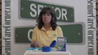 Denture Cleaning & Care - Senior Care Corner Family Caregiver Video Tips
