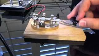 Morse Code Alphabet With Morse Code Straight Key