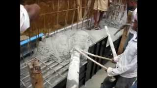 Raft Foundation with Dynamic Concrete