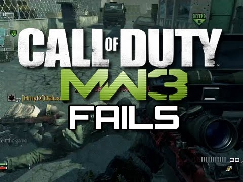 Funny MW3 Fails #3 - Car Explosion and Riot Shield Fails (Funny MW3 Gameplay Moments)
