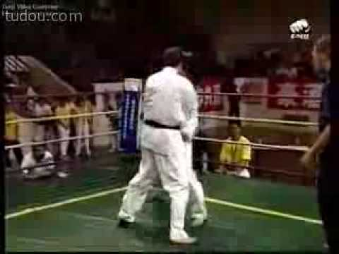 2004 Russian Kyokushin Karate VS China WTF Tae Kwon Do Image 1