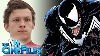 Tom Holland's SPIDER-MAN to Appear in VENOM Movie? – The CineFiles Ep. 55