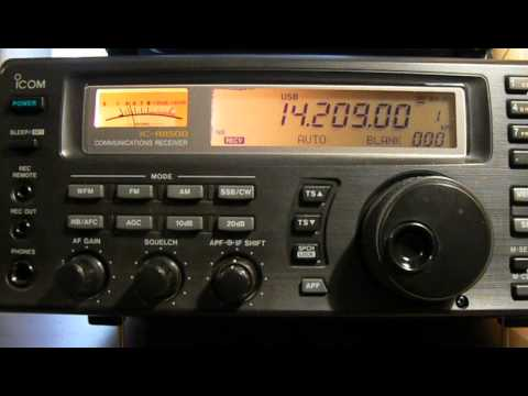 14209khz,Ham Radio,ZL1ONE(New Zealand,OPOTIKI,JANE) 08-26UTC.