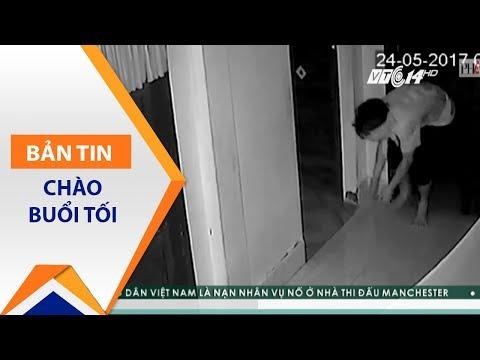 """Cận cảnh kẻ biến thái """"săn"""" phụ nữ trong đêm   VTC1"""