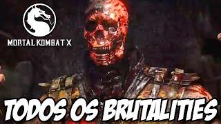 Mortal Kombat X - TODOS OS BRUTALITIES