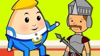 Humpty Dumpty - Nursery  Rhymes For Children | Chikaraks