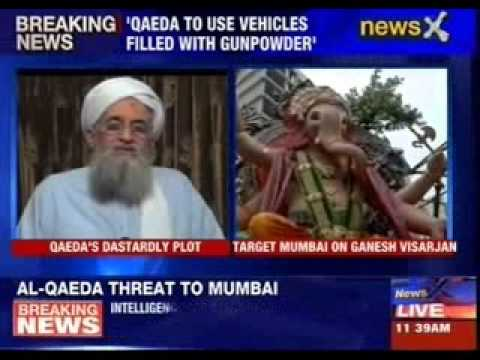 Al-Qaeda terror threat sounded to Mumbai police