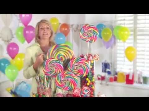 Create a Colorful Candy Buffet CandyWarehousecom Feature Presentation