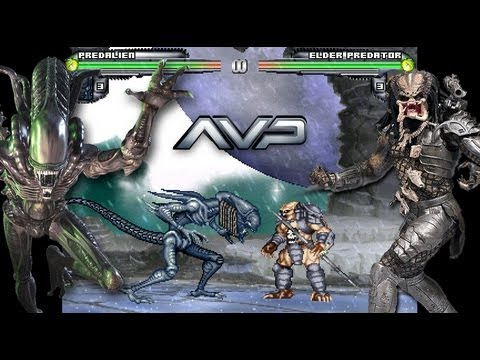 Alien vs Predator M.U.G.E.N - 2013 Updated (Download) AVP free PC game