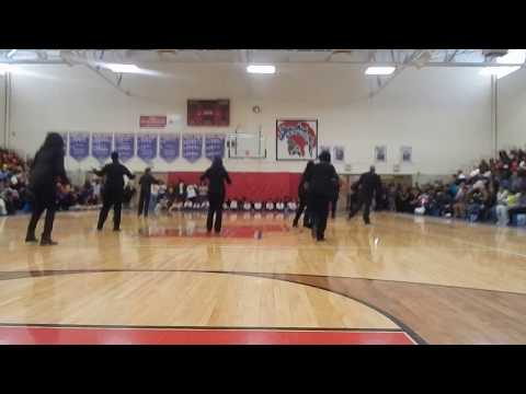 January 10 2015  Cheer Dance Step at Eastmoor   Howard Rec  50 Plus Line Dancers