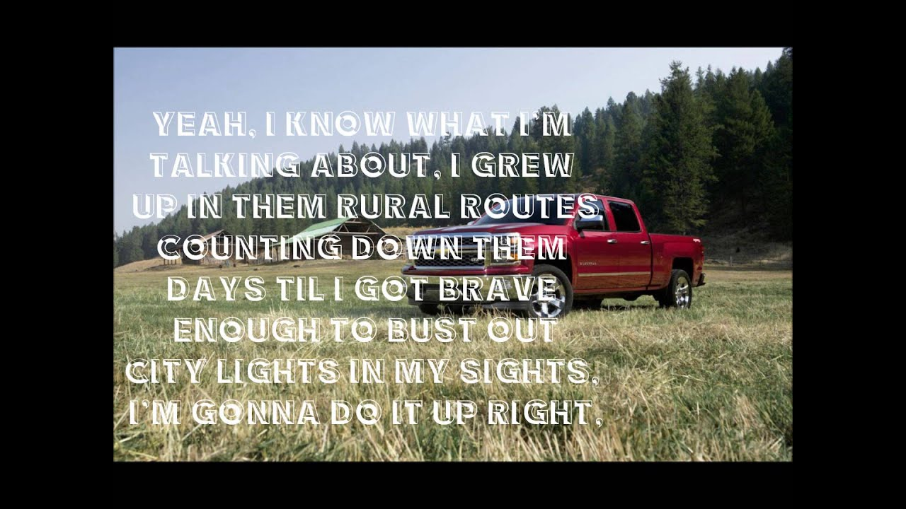 Drivin Aroung Song Colt Ford Ft Jason Aldean Lyrics Youtube