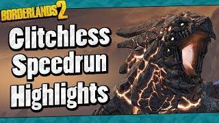 Borderlands 2 | Glitchless Speedrun Highlights (Full Run In Description)