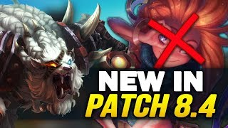 New in Patch 8.4 - Massive new changes and reworks! (League of Legends)