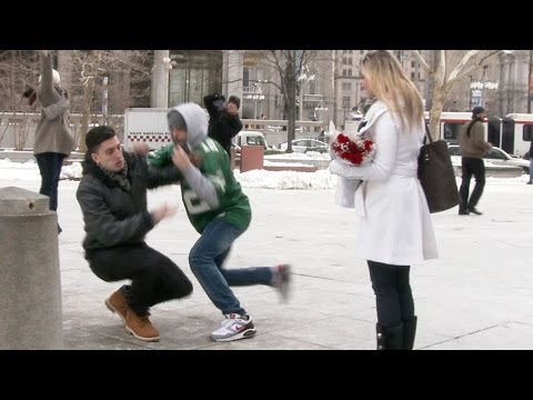 Valentine's Day Proposal Robbery video