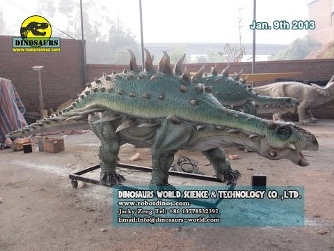 5 Big Mechanical Dinosaurs Finished In Factory For Czech Republic Dinosaur Park