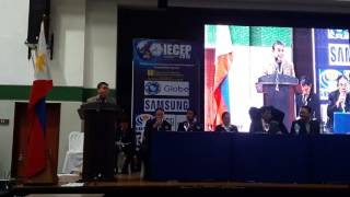 DICT Secretary Rodolfo Salalima opens IECEP National 66th AGM